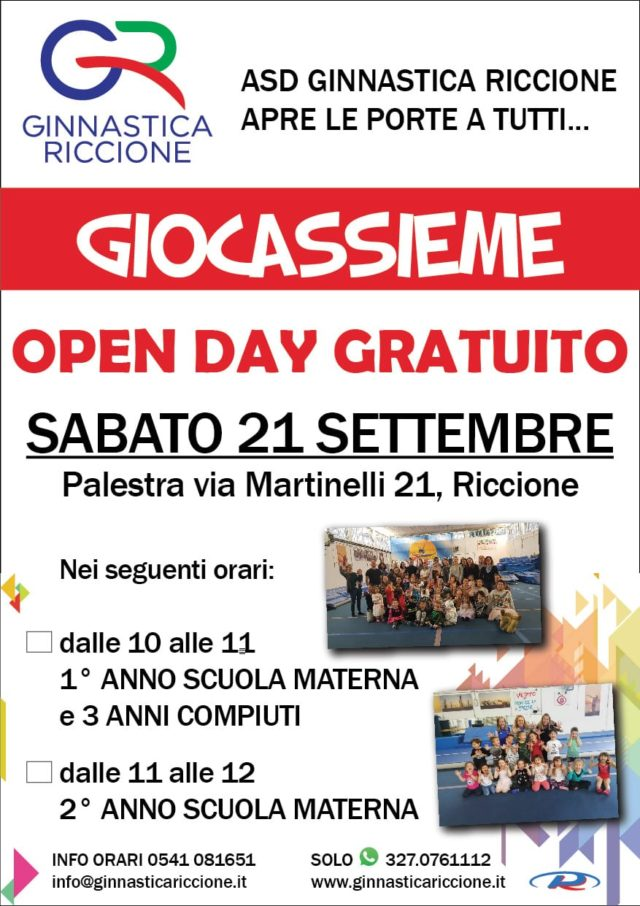 OPEN DAY GIOCASSIEME