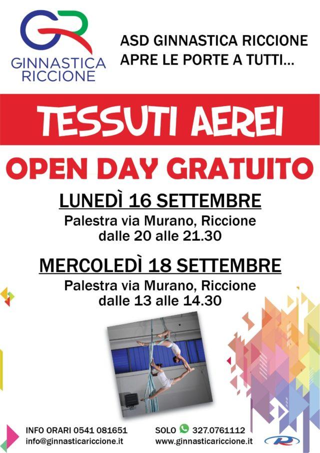 OPEN DAY TESSUTI AEREI