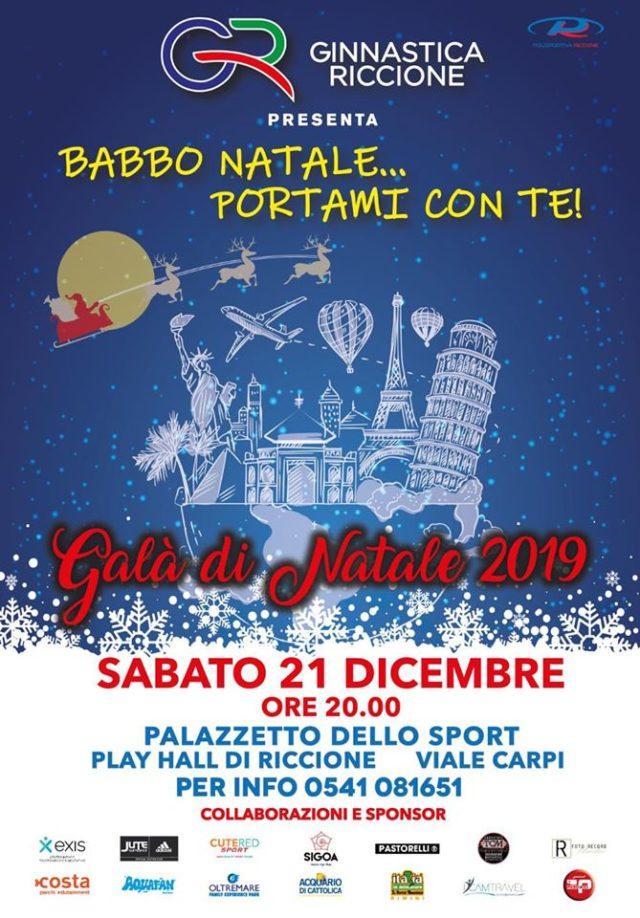 GALA' DI NATALE 2019 21 DICEMBRE